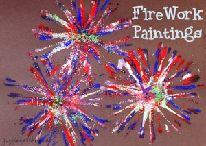 Fireworks Paintings