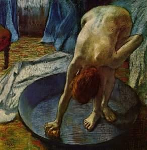 Edgar Degas - Woman in the Bath - 1886