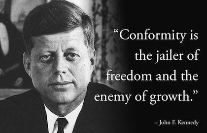Conformity-president-quote
