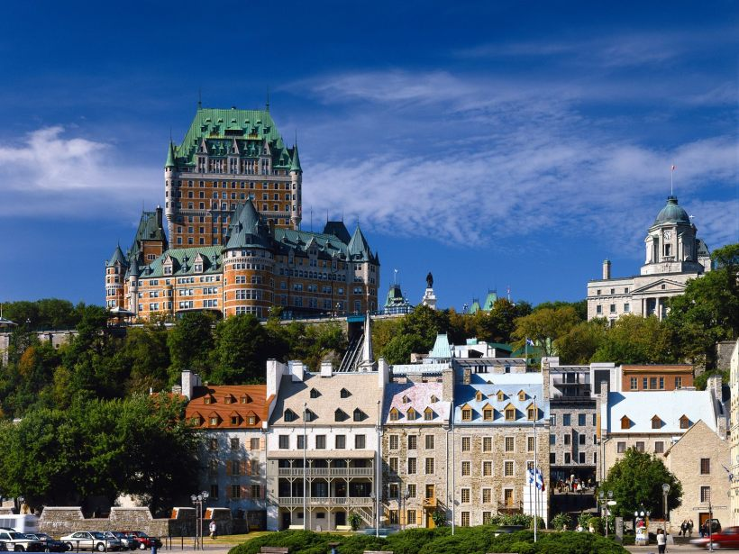 Quebec City on the Saint Lawrence